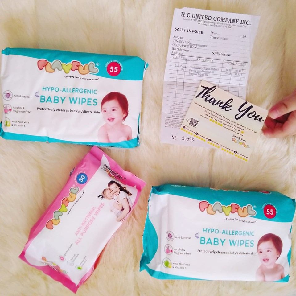 Playful Baby Wipes