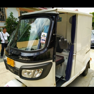 Lazada Express Delivery Vehicle
