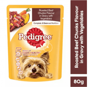 Pedigree® FREE Beef Chunks in Sauce Pouch