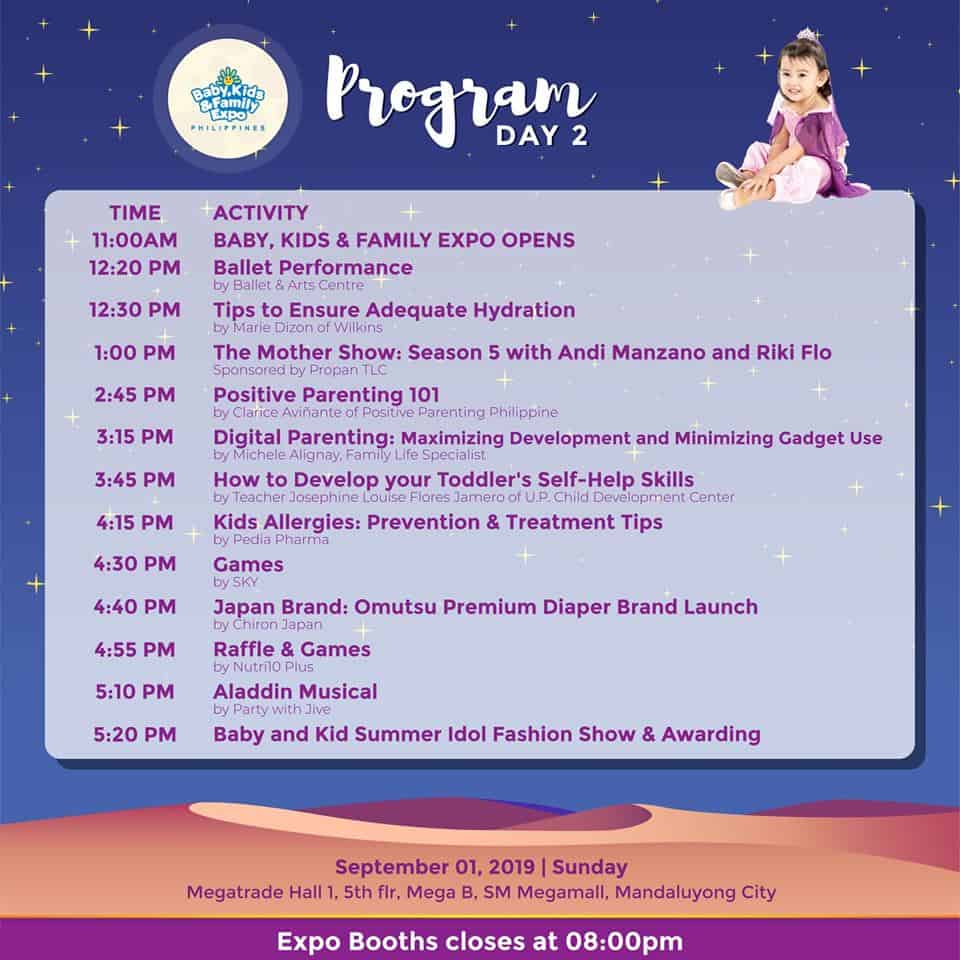 BFKEP2019 Schedule of Program Day 2