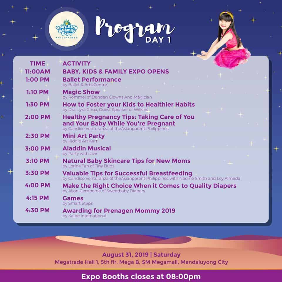 BFKEP2019 Schedule of Program Day 1