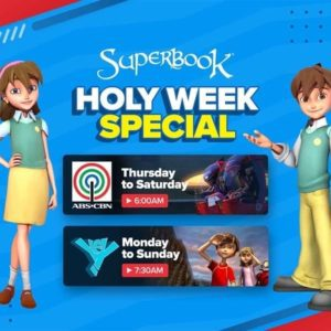 Superbook Holy Week Special