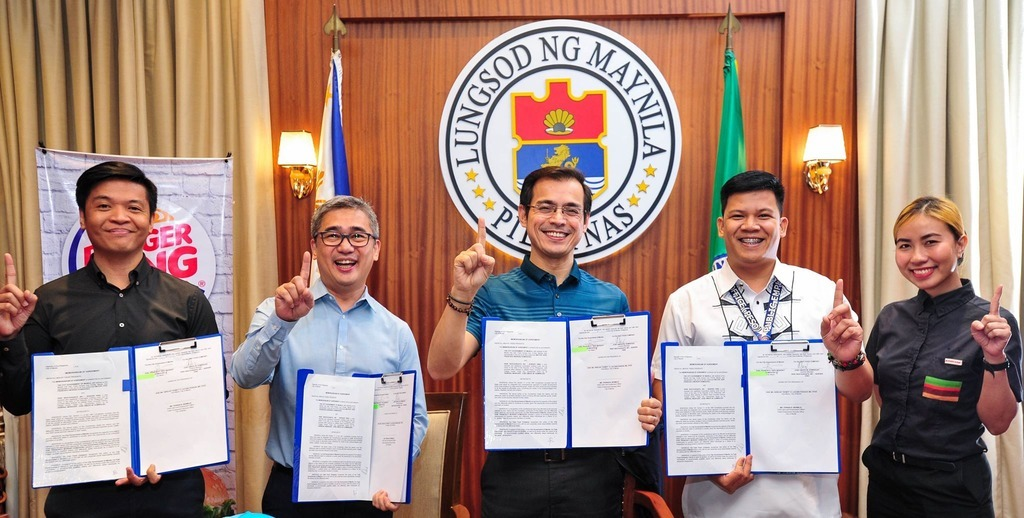 Burger King Mayor Isko Moreno
