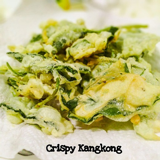 How to make crispy kangkong