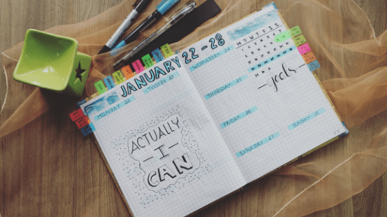 Tips to manage anxiety by journaling