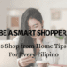 Shop from Home Tips