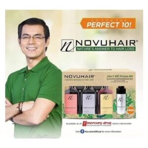 NOVUHAIR 3 IN 1 VIP PROMO KIT