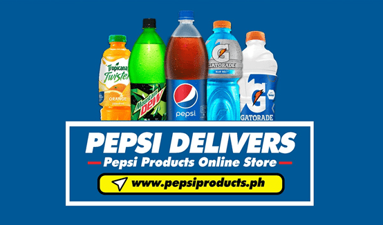 Pepsi PH Ecommerce website
