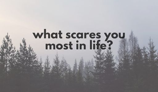 writing prompts what scares you most