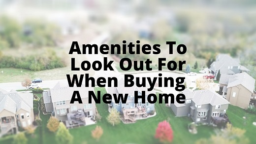 Amenities New Home