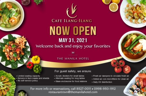 Cafe Ilang Ilang Now Open